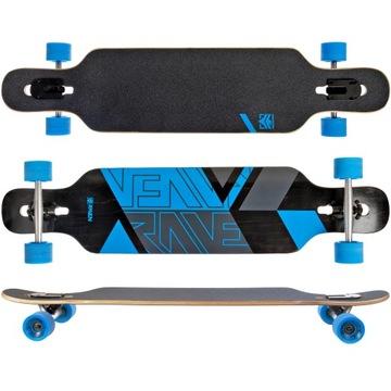 Skateboard Longboard Raven Torex Blue Abec9