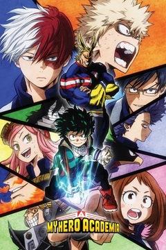 My Hero Academia Heroes - plagát 61x91,5 cm