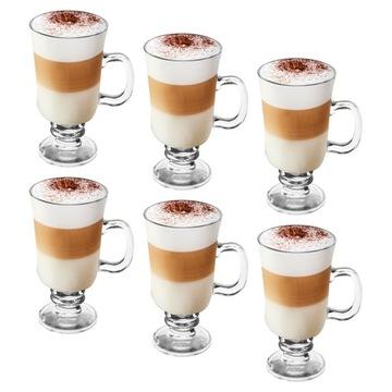 Sada pohárov Tadar Irish Coffee Latte 6 ks