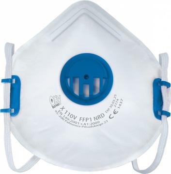 Semi-maska Ochranná maska FFP1 Zelenina P1 Domáce