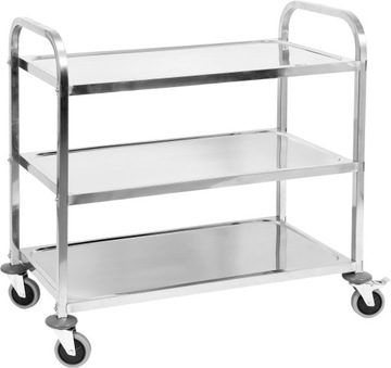 Yato Waiter Catering Trolley 3-tanier