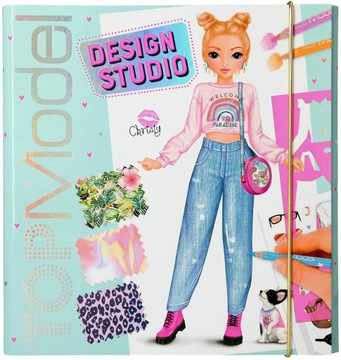 Topmodelka kreatívna Fashion Creative Studio v kufríku