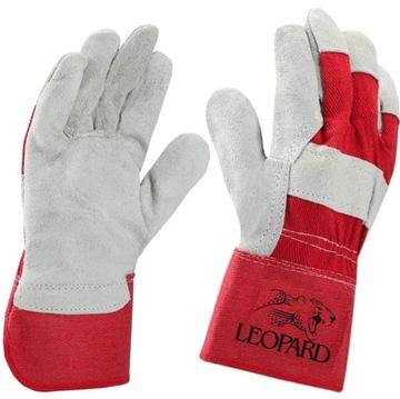 Kožené rukavice vystužené koženými rukavicami '