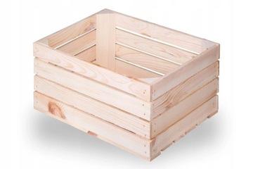 Drevená krabica, drevené krabičky 40x30x20