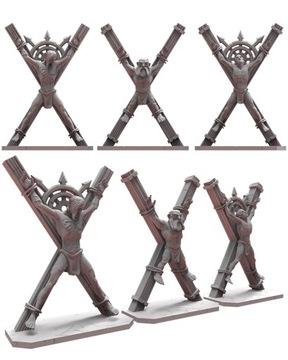 Väzni - stratené kráľovstvo - 3D tlač