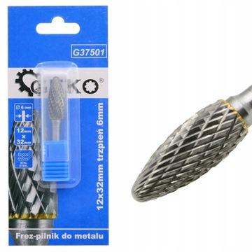 Rotačná fréza pre kovové karbid volfrám