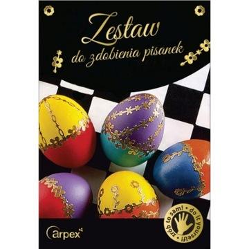Arpex Sada pre zdobenie vajíčok Veľkonočné vajcia