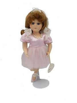 porcelánová bábika MARIA so zastrčenou nohou
