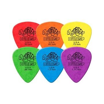 Kocky pre gitary 6 ks / Cubes Dunlop Tortex Kvalita