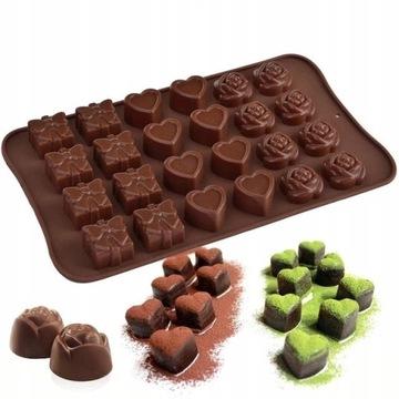 Silikónová forma na čokoládovú pravý ľad