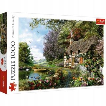 Puzzle 1000 Charming Trefl Corner