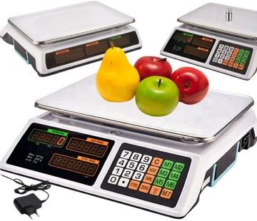 Elektronický výpočet obchod 40 kg