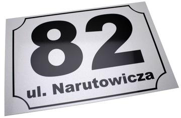 ADRESÁR ČÍSLO DOMU ČÍSLO 30x20 TLAČ!