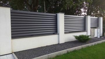 Tarzyńński hliníkové ploty