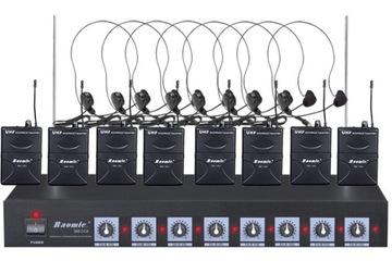 Bezdrôtový mikrofón - Batic BM-SG8N SET