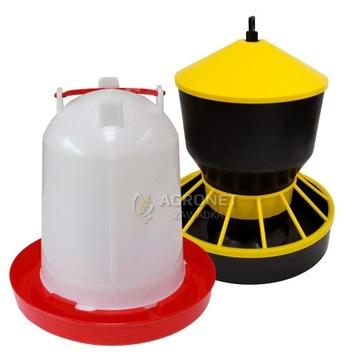 LOIN + podávač pre hydinu husaciu KUR 6 L + 6 kg