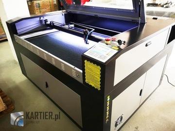 CO2 Laserový plotter, 130x90, 60W, CW-3000, RDC6445