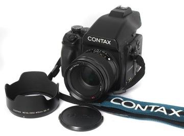 E-Eye Contax 645 AF + 80 / 2.0 Perfektné !! HUBBUB.