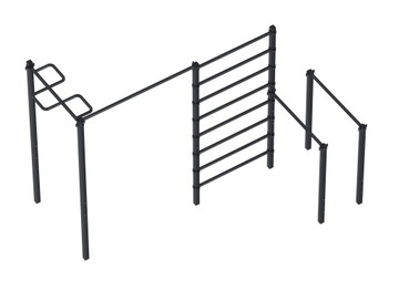 Rodný závesný rebrík Street Garden práce ZO7C5