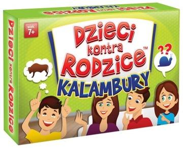 Deti Versus Rodičia Kalambury Rodinná hra