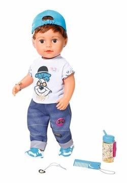 BABY BORN Interaktívna bábika Braciszek SOFT 43 cm