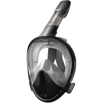Plná potápačská maska Beona Lava Black