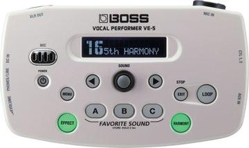 Boss Ve-5 Wh Effect pre vokálny hlasový procesor