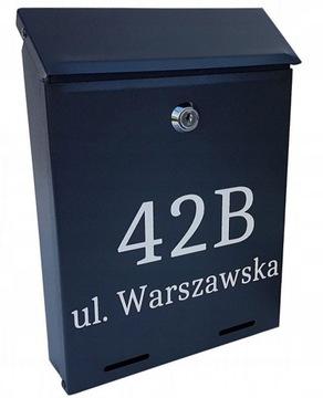 Poštová schránka YORK - číslo domu, - SPRÁVA