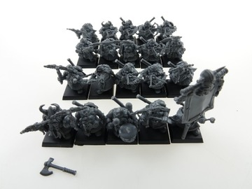 Warhammer Twarf Harmonogramy nastavili 20 číslic