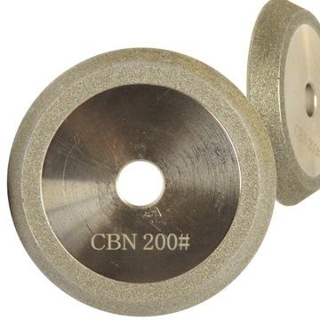 Diamantový štít pre ostrenie vŕtačky 78x12.7mm