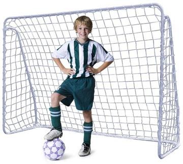 Veľký kovový futbalový gól 213x150 mriežka