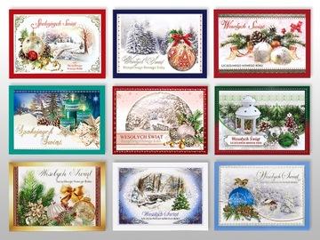 Vianočné karta pohľadnice Zlaté želania