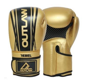 Outlaw Boxerser Rukavice Veľkoobchod Zlato 12oz