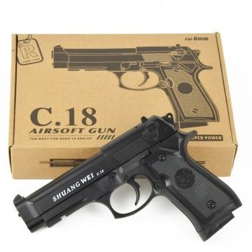 c.18 zbraňová replika pre Beretta BB