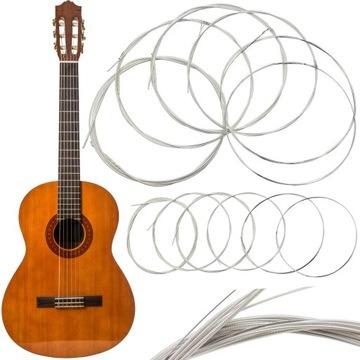 Nylonové reťazce pre klasickú gitaru 6 ks