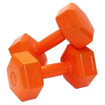 Dumbbells Dumbbell 6kg Kit 2x 3kg Fitness