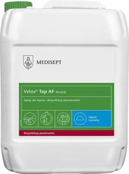 VELOX TOP AF 5L Neutrálny dezinfekčný povrch