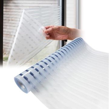 Statické okná Fólie Crystal Stripes 45x150 G86