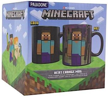 Termoaktívny hrnček Minecraft Steve Alex Original