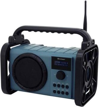 Prenosné FM DAB Construction Radio + Reproduktorová lampa.