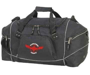 Kyokushin Karate Športová taška s výšivkou 3 farby