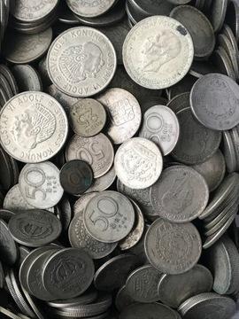 Sada strieborných mincí 1 kg kilogramov striebro