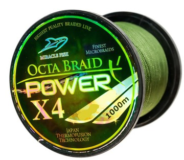 Pletené 0.23mm / 1000m 18,8kg zelená šťuka