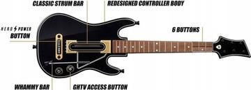 Guitar Hero Live Xbox 360 Guitar bez prehrávania regulátora