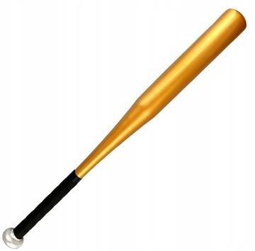 Baseballová palica hliník 25 palcov zlatý tmavý