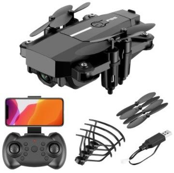 Mini DRON Z CAMERA F86 4K HD Zawis RC QUADCOPTER