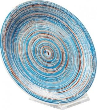 Swirl Plate Ø19 cm BLUE SFMELE