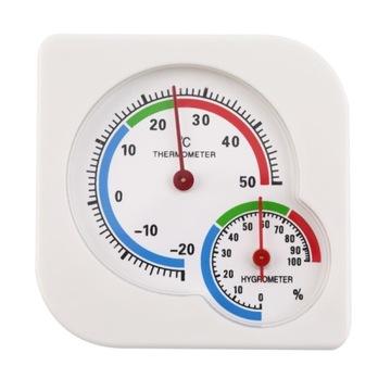 ANALOG Hygrometer Vlhkomer Meter Temlomer