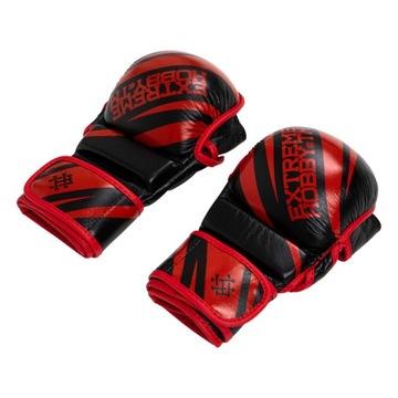 Pánske kožené rukavice MMA Extreme Hobby L