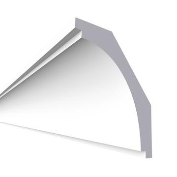 Laminátová stropná rímsa, fazetovaný LSUM9 9x7